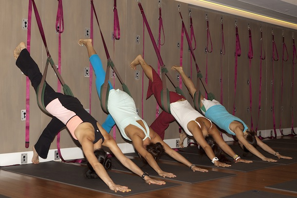 wall rope yoga hong kong pure