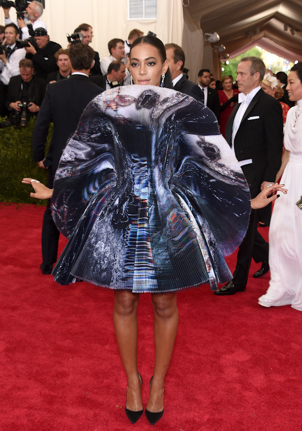met gala 2015 fashion - solange