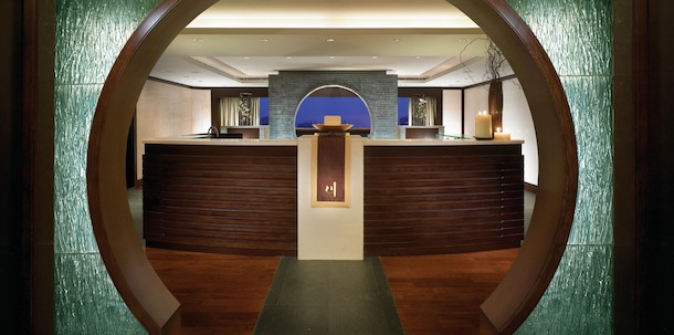 Chuan Spa ginger renewal treatment lobby