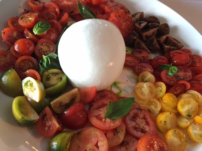 buffalo mozzarella salad