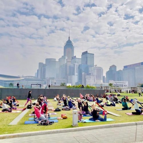 whatsonhk free things to do march yoga strap class