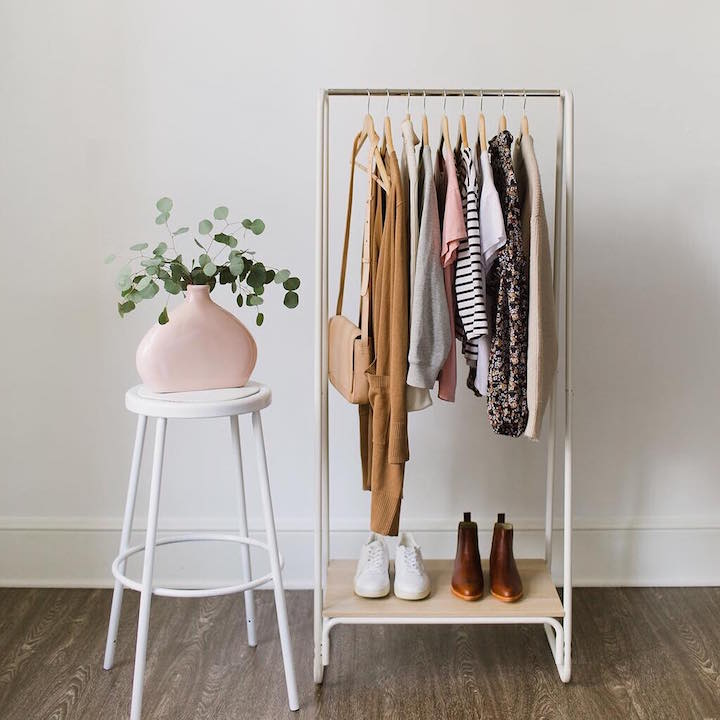 How To Style Your Wardrobe When You Don't Have Much Space