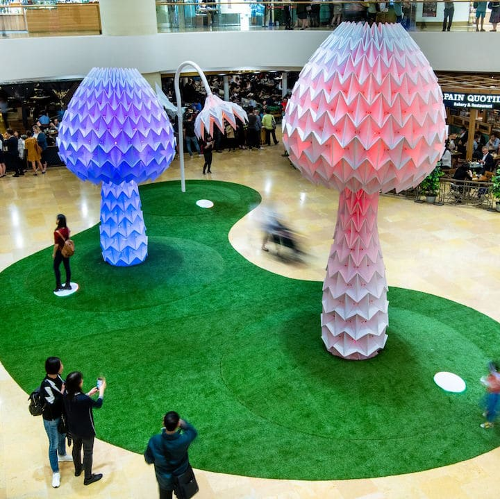 World-Renowned Art Installation LUMENous GARDEN Comes To Pacific Place For Art Month