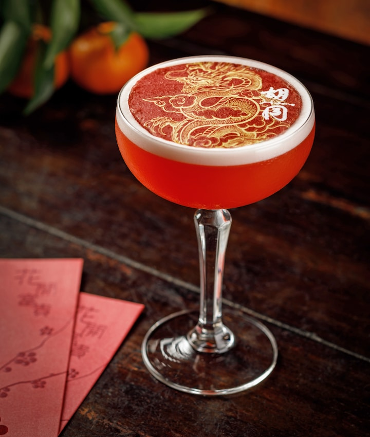 Hutong chinese new year cocktail