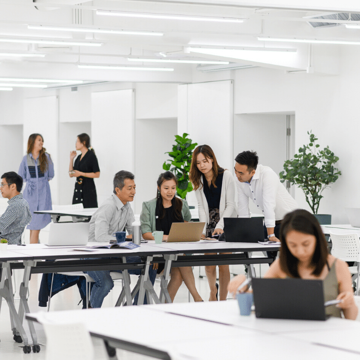 theDesk: Minimalist co-working office in Hong Kong