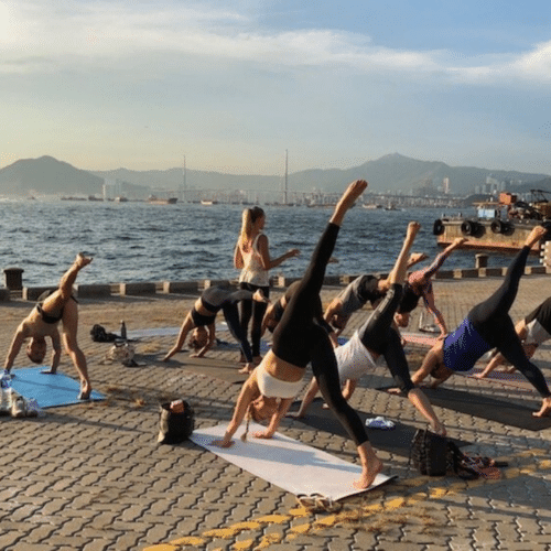 Charity Yoga For MindHK: Outdoor Yoga