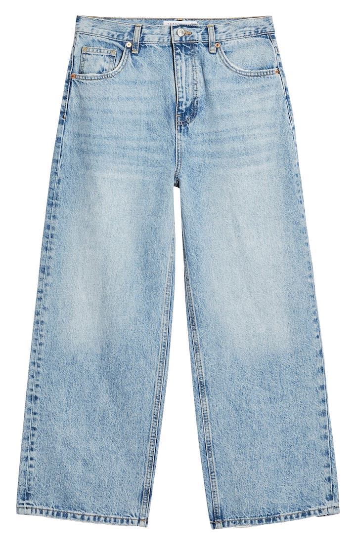 New In Fashion May 2020: Topshop, Wide Leg Crop Jeans